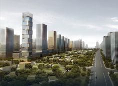 Southern Island of Creativity / Chengdu Urban Design Research Center,the edge of the island 01