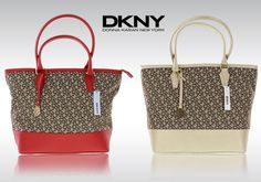 383bd601be DKNY γυναικεία τσάντα με δερμάτινα τελειώματα σε 2 χρώματα!