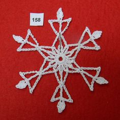 PDF Patterns for 5 Crocheted Snowflakes set 32 от TheNeedleWorks