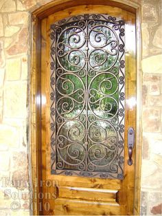 Faux Wrought Iron - window covering for kitchen?