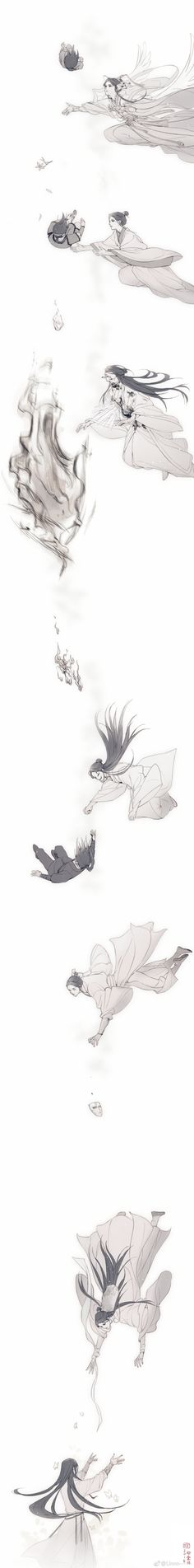 Cute Anime Pics, Anime Love, Fan Anime, Celestial, Chinese Art, Novels, Blessed, Heaven, Doujinshi
