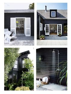 Black exterior // Muppet and Co