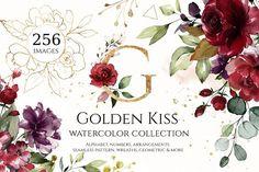 Watercolor floral se