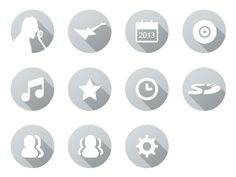 Music App Icons by Alex Sadeck