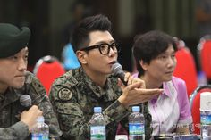 Rain, Park HyoShin, and KCM on the Be The Star Auditions judges panel. Question: Isn't Park HyoShin being discharged in a few days? Seems I heard through the grapevine his time was up…! (Images Credit: DEMA.mil.kr)