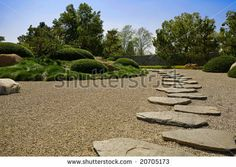 Japanese Garden Path by Chuck Aghoian, via ShutterStock