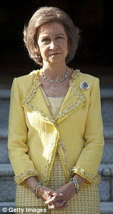 Queen Sofia of Spain.