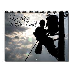 Power Lineman - Journeyman Electrician Calendar by ideadesigns - CafePress Lineman Love, Lineman Gifts, Power Lineman, Journeyman Lineman, Electrical Lineman, Calendar Pages, Retirement Parties, Calendar Design, Armadillo