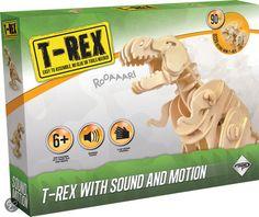 bol.com | Dinosaur T-Rex 3d RoboTime (RBTD210) | Speelgoed 3d Puzzel, T Rex