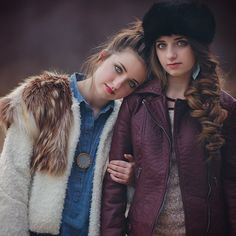 BROOKLYN AND BAILEY, BROOKLYN&BAILEY, LINDSEY SHORES STYLING, FASHION STYLING, PERSONAL STYLING, GIRL'S FASHION, WOMEN'S FASHION, FROSTED PRODUCTIONS, FUR VEST, LEATHER COAT, RUSSIAN HAT