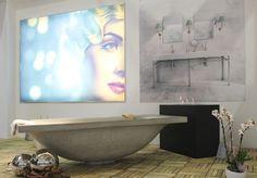 dade-design.com Garden / Terrace Decorative lighting Bathroom / Sanitaryware Concrete
