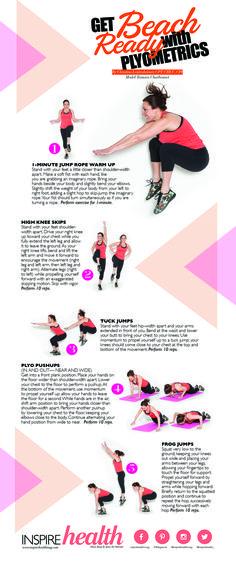 Get Beach Ready with Plyometrics | Inspire Health Magazine - Fitness/Workout