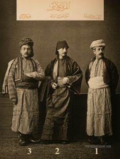 Clothing from Province of Ankara: Istanbul, 1873 | Photographium | Historic Photo Archive