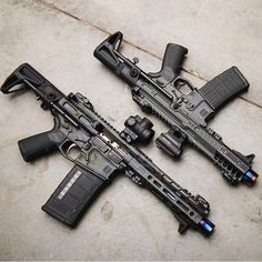 Airsoft Guns, Weapons Guns, Guns And Ammo, Ar Pistol Build, Ar15 Pistol, Custom Guns, Custom Ar, Military Guns, Assault Rifle