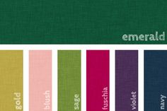Decorating with Emerald Green: Furniture, Decor & Complementary Colors - Hayneedle Green Room Colors, Green Color Schemes, Green Colour Palette, Bedroom Color Schemes, Green Rooms, Color Combinations, Colour Palettes, Emerald Green Bedrooms, Emerald Green Decor