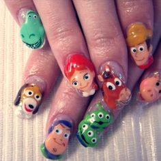 Toy Story Fan Art - 64 Pictures of Artwork - Page 2 of 3 - Snappy Pixels Toy Story Nails, Different Types Of Nails, Woody And Buzz, Childhood Movies, Disney Nails, Fun Nails, Nice Nails, Smiley, Nail Care