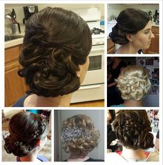 Vintage Bridal Hair Updo Braid by Hairspray Revolution Bridal Hair Updo Vintage, Vintage Hairstyles, Wedding Hairstyles, Dream Wedding, Hair Wedding, Bridal And Formal, Braided Updo, Hairspray, Gorgeous Hair