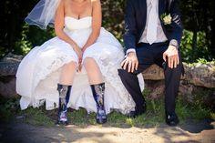 Nie je lepšia obuv na svadobný deň, ako poriadne gumáky... :-)     http://www.svadobnyfotograf.com