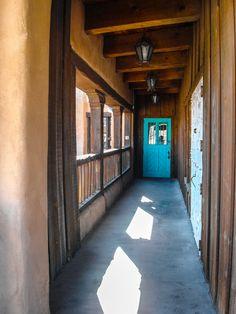 Turquoise Door in Old Town Albuquerque (April 2011)