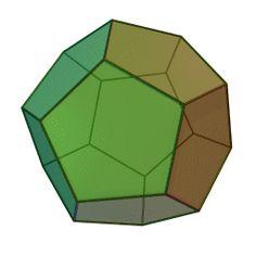 Représentation d'un dodécahèdre