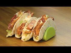 Τορτιγια με Κοτοπουλο.Σνιτσελ..!!! Tasty Videos, Food Videos, Cookbook Recipes, Cooking Recipes, Finger Foods, Sushi, Food And Drink, Mexican, Ethnic Recipes