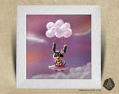 Cadre carré 25x25 cadeau Naissance avec Illustration Chiot parachute nuage pour Chambre Enfant bébé https://www.etsy.com/fr/listing/578764533/cadre-carre-25x25-cadeau-naissance-avec?ref=shop_home_active_20
