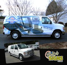 Here's a nice commercial wrap by ShaBob Signs. Wrapped with 3M 180CV3.