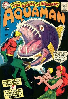 Aquaman #23, october 1965, cover by Nick Cardy.