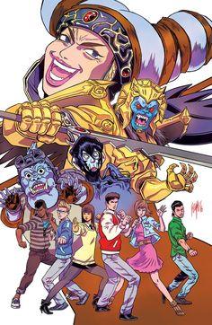 Gemini Cancer Leo Virgo by batmanorama on DeviantArt Leo And Virgo, Gemini And Cancer, Drawing Games, Comic Drawing, Pokemon, Go Go Power Rangers, Green Ranger, Mighty Morphin Power Rangers, Comic Artist