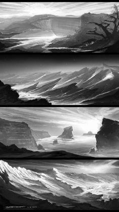 Landscpae Values [4] - Concept Art - Gallery - cg-space