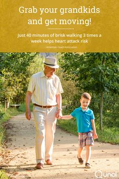 Moderate cardio, such as brisk walking, is a great combatant to high cholesterol and blood pressure. https://www.qunol.com/reduce-your-heart-attack-risk-grab-grandkids-get-moving/