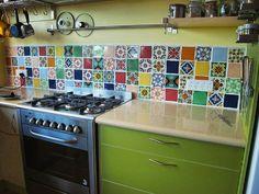 Kitchen splash using @old_world_tiles  #kitchensplashback #kitchendesign #homedesign #interiordesign #interiorstylist #tiles #tileaddiction #tilelove #interiorlove #interiorarchitecture #CompleteTilesandStone by completetilesandstone