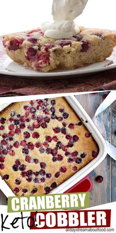 This easy keto cranberry cobbler will become the star Holiday brunch perfection! This easy keto cranberry cobbler will become the star. This easy keto cranberry cobbler will become the star. Low Carb Sweets, Low Carb Desserts, Low Carb Recipes, Dessert Recipes, Dessert Ideas, Easy Recipes, Dinner Recipes, Diabetic Desserts, Diabetic Recipes