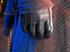 Kylo Ren costume details. Star Wars: The Force Awakens.