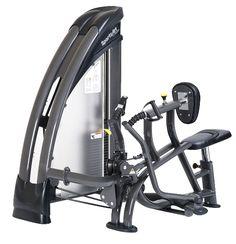 STAUS SERIE S-921 Mid row  - Onafhankelijke beweging - Ergonomische roterende handgrepen - Zitting is gasveer ondersteund en borst kussen is instelbaar - Extra tussen-gewichten 2x 1.5 Kg instelbaar