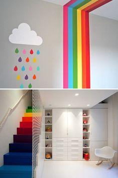 83 Best Rainbow Room Kids Images Bedroom