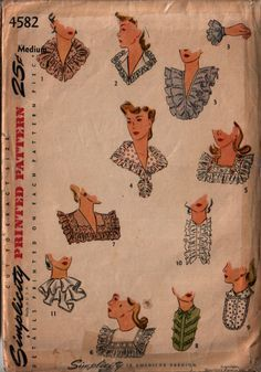Most gorgeous african fashion illustration inspiration ideas 3748 Vintage Dress Patterns, Vintage Dresses, Vintage Outfits, Vintage Fashion, Retro Mode, Indiana, Collars For Women, Love Clothing, Collar Pattern