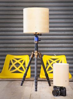 Phlite is a beautiful lamp - a light fitting, lampshade spider, lampshade, luxurious textile power cord and integrated switch - with a uniqu...