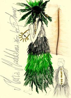 """sketches FW13  """"La Vie de Madame Rouy"""""""