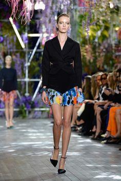 Christian Dior: Runway - Paris Fashion Week Womenswear Spring/Summer 2014