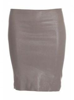 Skirt in stretch leather  nederdel i stræk skind http://lanugo.dk/78-210-thickbox_default/panther-skirt.jpg