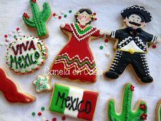 galletas decoradas mexicanas - Buscar con Google