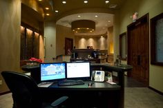 As soon as you walk in our office your dental ideologies will be transformed. Medical Office Design, Office Interior Design, Office Interiors, Office Plan, Summer Jobs, Office Decor, Dental, Dentistry, Offices