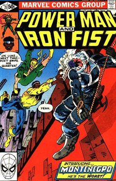 Browse the Marvel Comics issue Power Man and Iron Fist Learn where to read it, and check out the comic's cover art, variants, writers, & more! Star Comics, Avengers Comics, Marvel Dc, Dc Comics, Comic Book Covers, Comic Books, Comic Art, Iron Fist Comic, Luke Cage Iron Fist
