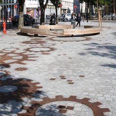 Place de la Paix by Mutabilis paysage & urbanisme « Landscape Architecture Works | Landezine