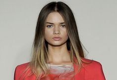 ombre straight hair. this is probs what mine would look like
