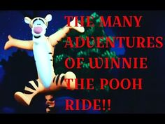 The Many Adventures of Winnie the Pooh Attraction - Magic Kingdom - Video - 2008 Winnie The Pooh, Music, Youtube, Movies, Movie Posters, Musica, Musik, Winnie The Pooh Ears, Films