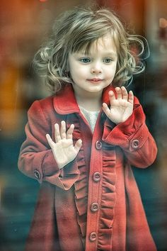 """Christmas Window Shopping ~ """"There are no seven wonders of the world in the eyes of a child. There are seven million."""" ~ Walt Streightiff"""