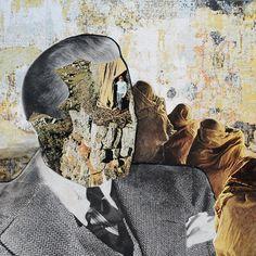 """Saatchi+Art+Artist+Erin+Case;+Collage,+""""Turn+Shelter""""+#art"""
