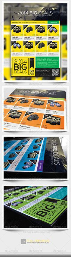 Booklet Layout, Flyer Layout, Pamphlet Design, Cleaning Business Cards, Flyer Printing, Sale Promotion, Layout Inspiration, Business Brochure, Print Templates